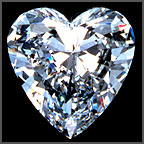 Canadian Heart cut GIA certificate diamonds price list, Wholesale diamond broker
