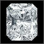 Canadian Radiant cut GIA certificate diamonds price list, Wholesale diamond broker